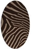 rug #472152   oval animal rug