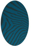rug #472214 | oval stripes rug