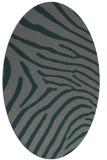 rug #472266   oval animal rug