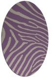 rug #472317 | oval beige popular rug