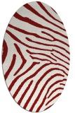rug #472387   oval stripes rug