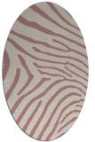 rug #472477 | oval stripes rug