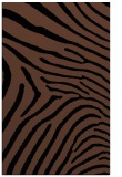 rug #472505 |  brown stripes rug