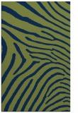 rug #472525    green stripes rug