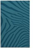 rug #472537 |  blue-green animal rug