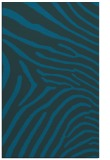 rug #472569 |  blue stripes rug