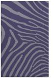 rug #472577 |  blue-violet animal rug