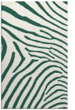 rug #472621 |  blue-green animal rug