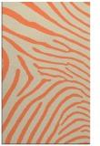 rug #472685 |  orange stripes rug