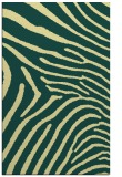 rug #472693 |  blue-green stripes rug