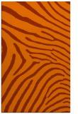 rug #472745 |  red-orange animal rug
