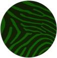 rug #472909   round green animal rug