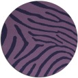 rug #472937   round purple stripes rug