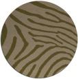 rug #472961 | round mid-brown stripes rug