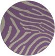 rug #473021 | round beige animal rug