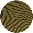 rug #473069 | round purple animal rug