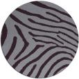 rug #473077   round purple animal rug
