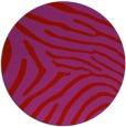 rug #473093   round red animal rug
