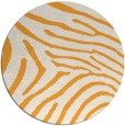 rug #473189 | round light-orange animal rug