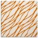 rug #473737 | square orange natural rug