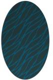 rug #473977 | oval blue popular rug