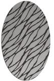 rug #474097 | oval red-orange rug