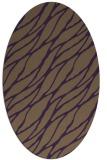 rug #474129 | oval purple popular rug