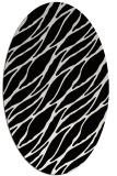 rug #474169 | oval white natural rug