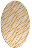 rug #474245   oval light-orange natural rug