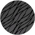 rug #474609 | round black natural rug
