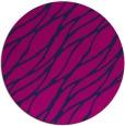 rug #474629 | round pink natural rug