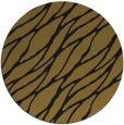 rug #474717 | round black rug