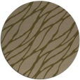 rug #474721 | round mid-brown natural rug