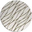 rug #474741   round white popular rug