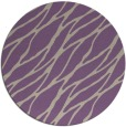 rug #474781 | round purple natural rug