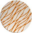 rug #474793 | round orange rug
