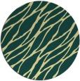 rug #474805 | round yellow popular rug