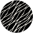 rug #474873 | round black natural rug