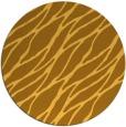rug #474905 | round yellow rug