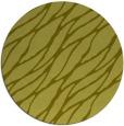 rug #474921 | round light-green natural rug