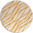 rug #474949 | round light-orange natural rug