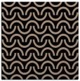 rug #477077 | square black retro rug