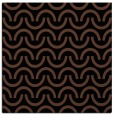 rug #477081 | square brown graphic rug