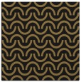 rug #477085 | square brown graphic rug