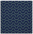 rug #477097 | square blue graphic rug