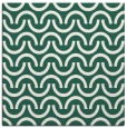 rug #477197 | square blue-green graphic rug