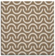 rug #477217 | square mid-brown rug