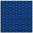 rug #477233 | square blue retro rug