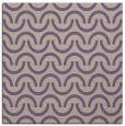rug #477245   square purple retro rug