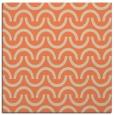 rug #477261 | square orange graphic rug